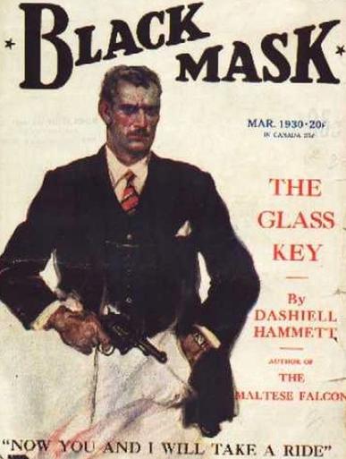 Publicación de la revista pulp Black Mask