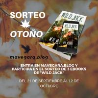 "Sorteo de otoño: tres eBooks de ""Wild Jack"""